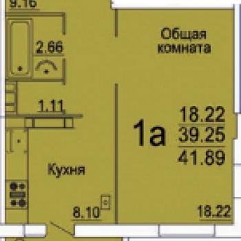 Микрорайон Бабаевского (Астрахань) – планировка №1