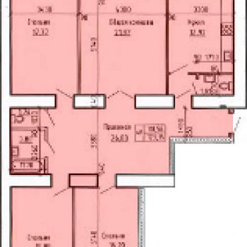 Микрорайон Лазурный 2 (Барнаул) – планировка №2