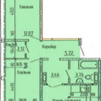 Микрорайон Лазурный 2 (Барнаул) – планировка №3