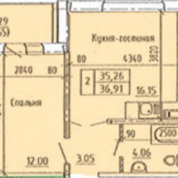 Микрорайон Лазурный 2 (Барнаул) – планировка №4