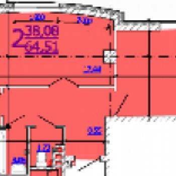 ЖК на ул. Б.Хмельницкого (Белгород) – планировка №3