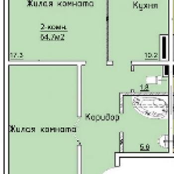 Микрорайон «Дубровка» (Белгород) – планировка №3