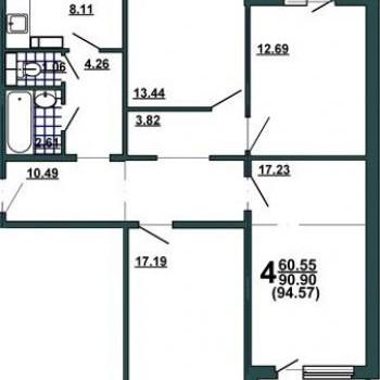Микрорайон Новосадовый (Белгород) – планировка №4