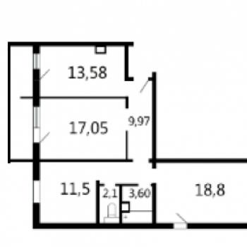 Квартал Набережных (Брянск) – планировка №2
