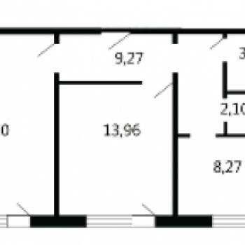 Квартал Набережных (Брянск) – планировка №3