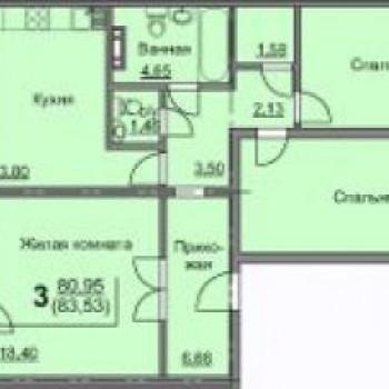 ЖК Чурилово Лэйк Сити (Челябинск) – планировка №2