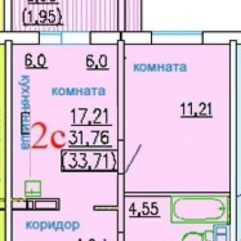 ЖК ДомА (Челябинск) – планировка №3