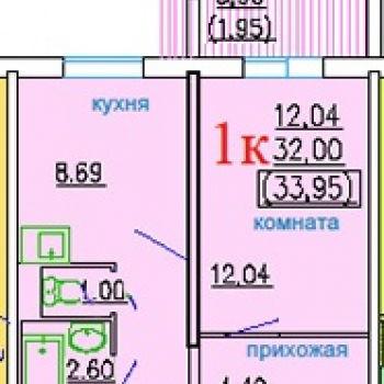 ЖК ДомА (Челябинск) – планировка №4