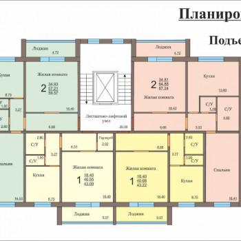 Микрорайон на ул. Доменная (Челябинск) – планировка №3