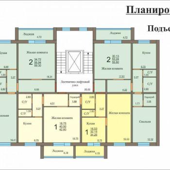 Микрорайон на ул. Доменная (Челябинск) – планировка №2