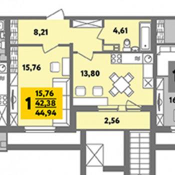 ЖК Финский дом (Челябинск) – планировка №4