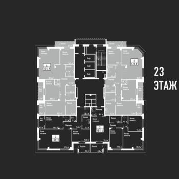 ЖК Башня свободы (Челябинск) – планировка №6