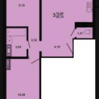 ЖК Дом на Бейвеля (Челябинск) – планировка №2