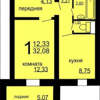 ЖК Микрорайон 49-В (Челябинск) – планировка №4