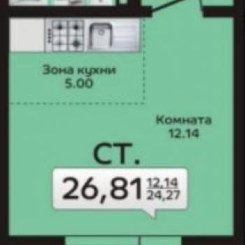 ЖК Дом на Кулибина (Челябинск) – планировка №1