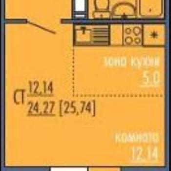 ЖК Все свои (Челябинск) – планировка №1