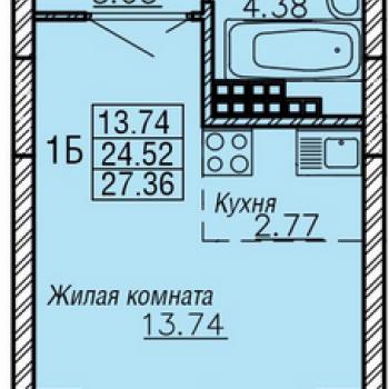 ЖК РИО (Екатеринбург) – планировка №4