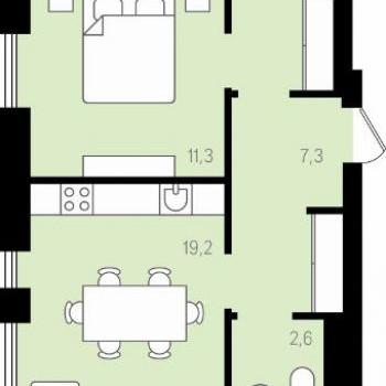 Квартал Новаторов (Екатеринбург) – планировка №4