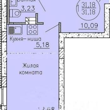 ЖК Генеральский парк (Екатеринбург) – планировка №2