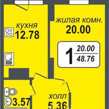 ЖК Миллениум (Екатеринбург) – планировка №8