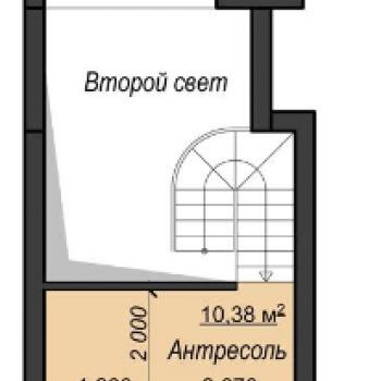 Созвездие Феникс (Екатеринбург) – планировка №1