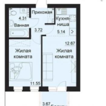 ЖК Балтым-Парк (Екатеринбург) – планировка №4