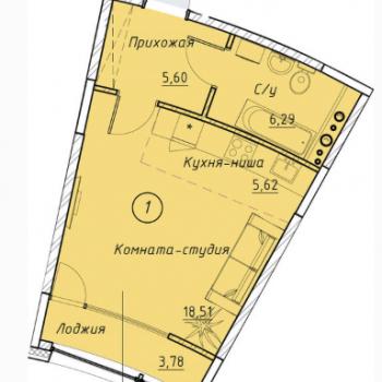 ЖК Клевер Парк (Екатеринбург) – планировка №8