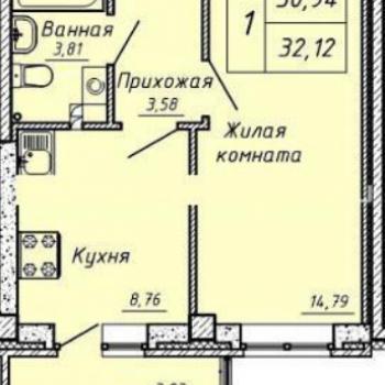 ЖК Гелиос (Екатеринбург) – планировка №2