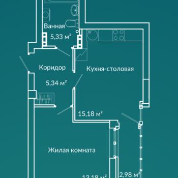 ЖК Новая Ботаника (Екатеринбург) – планировка №3