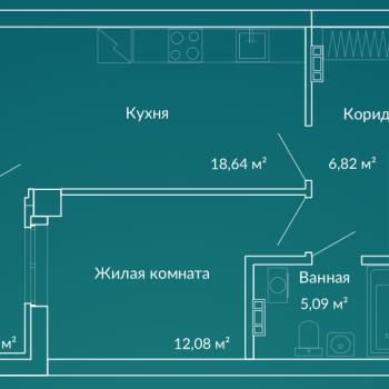 ЖК Новая Ботаника (Екатеринбург) – планировка №1