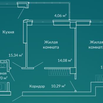 ЖК Новая Ботаника (Екатеринбург) – планировка №6