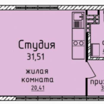 ЖК Гольфстрим (Екатеринбург) – планировка №13
