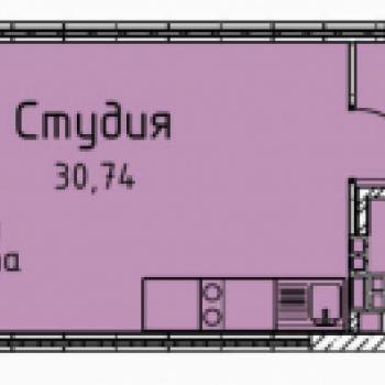 ЖК Гольфстрим (Екатеринбург) – планировка №11