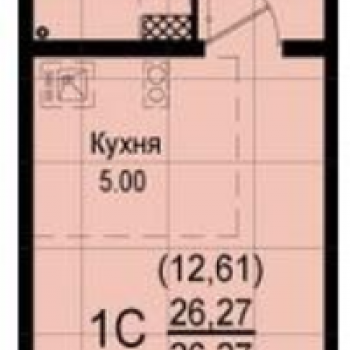 ЖК Восход (Екатеринбург) – планировка №3