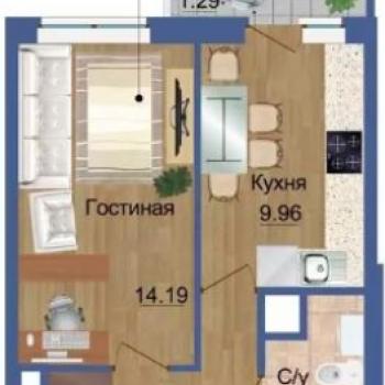ЖК Квартет (Екатеринбург) – планировка №4