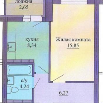 ЖК Оазис (Екатеринбург) – планировка №1