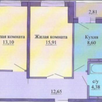 ЖК Оазис (Екатеринбург) – планировка №3