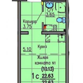 ЖК Хрустальные ключи (Екатеринбург) – планировка №4