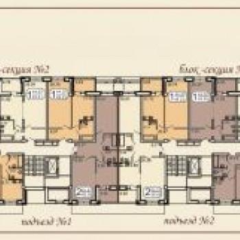Клубный дом на Звездинской (Иркутск) – планировка №3