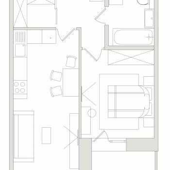 ЖК Семья (Иркутск) – планировка №5