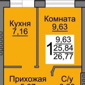 Микрорайон Новая Дерябиха (Иваново) – планировка №1