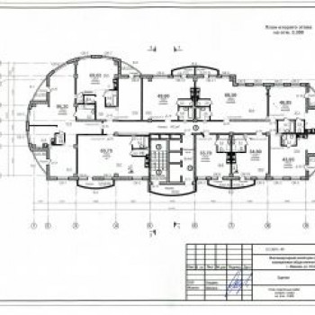 Жилой дом на ул. 10 Августа (Иваново) – планировка №1