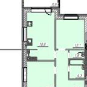 ЖК Европейский стиль (Иваново) – планировка №2