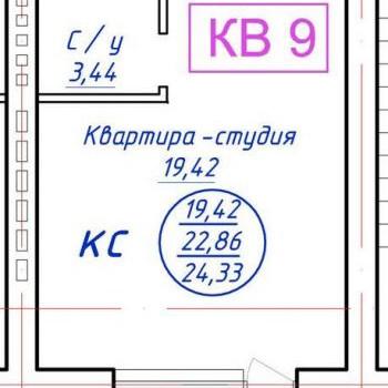 Микрорайон Уютный (Иваново) – планировка №1