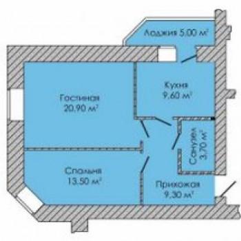 ЖК ГринПарк (Ижевск) – планировка №3