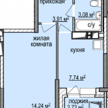 ЖК Эдельвейс (Ижевск) – планировка №4