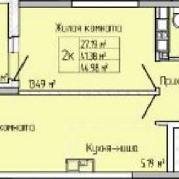 ЖК Матрешка Сити (Ижевск) – планировка №3