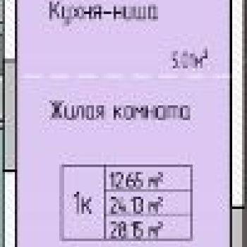 ЖК Матрешка Сити (Ижевск) – планировка №1