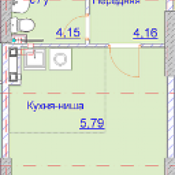 ЖК Алиса на Девятой Подлесной (Ижевск) – планировка №1