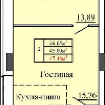 ЖК Идеал (Ижевск) – планировка №2